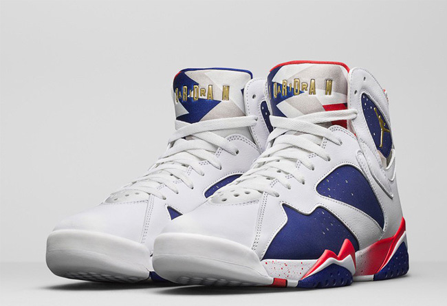 Wholesale Cheap 2016 Air Jordan 7 Olympic Alternate For Sale - www.wholesaleflyknit.com