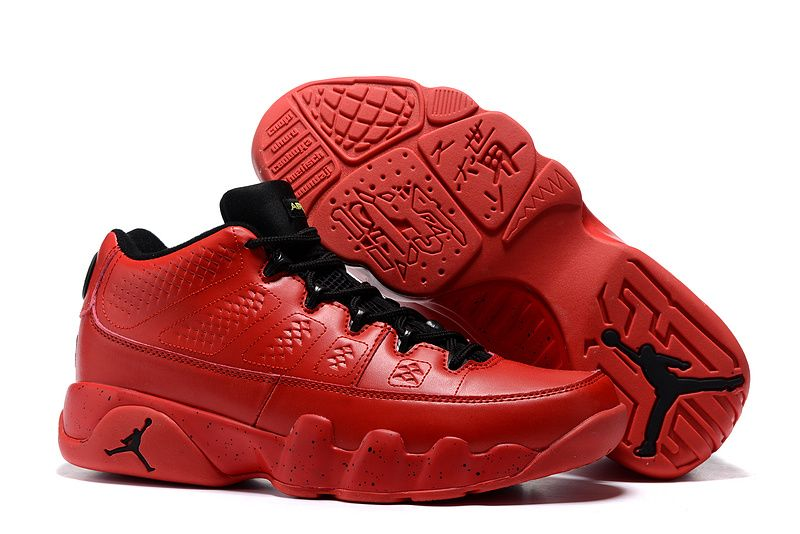 Wholesale Cheap 2016 Air Jordan 9 Retro Low Infrared Black Bright Red - www.wholesaleflyknit.com