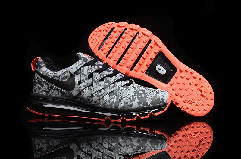 Wholesale Cheap 2016 Nike Fingertrap Max NRG Camo Reflective Silver Black-Dark Grey-Clear Grey - www.wholesaleflyknit.com