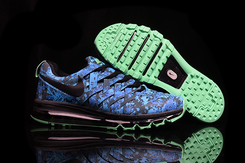 Wholesale Cheap 2016 Nike Fingertrap Max NRG Camo Turbo Green Black-Obsidian-Electric Green - www.wholesaleflyknit.com