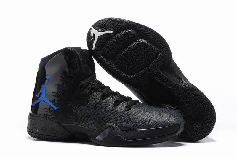 Wholesale Cheap 2017 Air Jordan 30.5 PE Black Blue For Sale - www.wholesaleflyknit.com