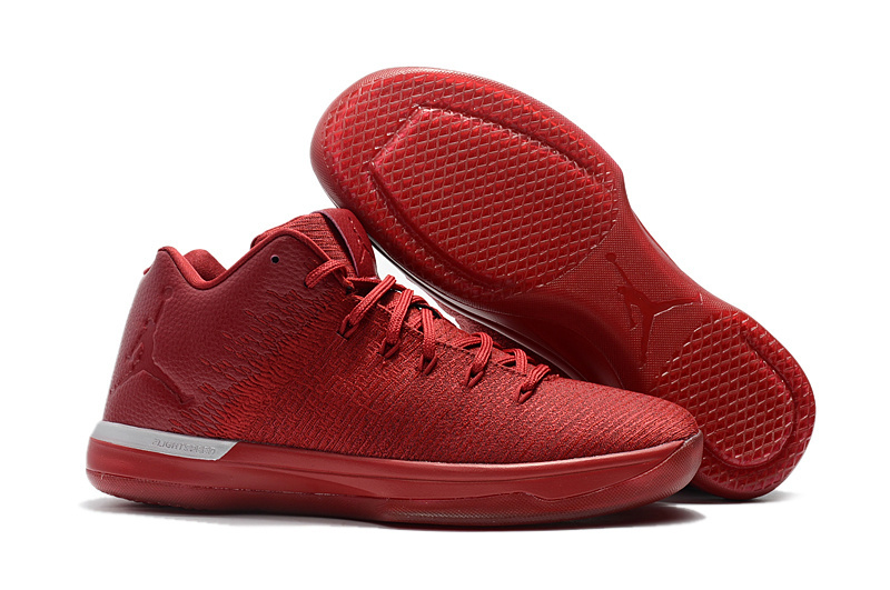 Wholesale Cheap 2017 Air Jordan 31 Low Gym Red Chicago Away For Sale - www.wholesaleflyknit.com