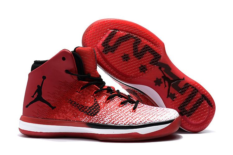 Wholesale Cheap 2017 Air Jordan 31 XXXI Chicago University Red Black-White Sale - www.wholesaleflyknit.com