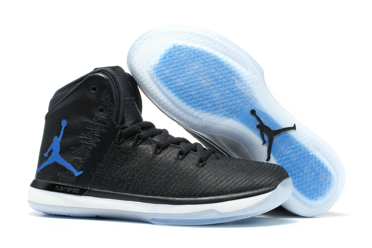 Wholesale Cheap 2017 Air Jordan 31 XXXI Space Jam Black Dark Concord-White Sale - www.wholesaleflyknit.com