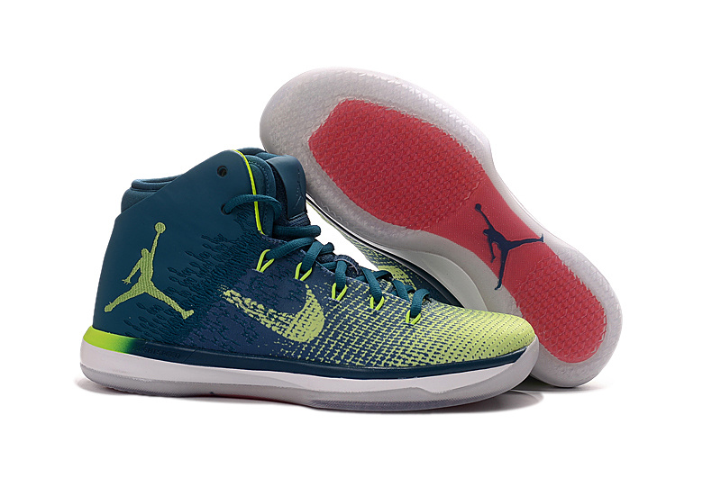 Wholesale Cheap 2017 Air Jordan XXX1 Brazil Rio Green Abyss Ghost Green-White - www.wholesaleflyknit.com