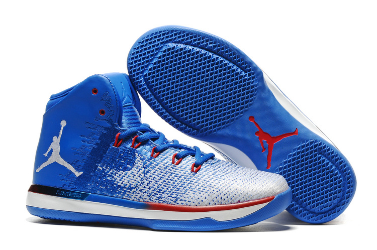 Wholesale Cheap 2017 Air Jordan XXXI Olympics USA Deep Royal Blue White University Red - www.wholesaleflyknit.com