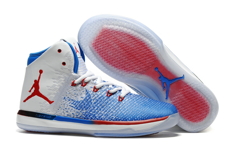 Wholesale Cheap 2017 Air Jordan XXXI Olympics USA White Deep Royal Blue University Red - www.wholesaleflyknit.com