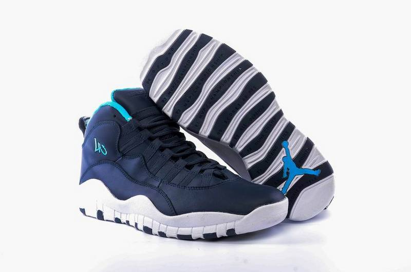 Wholesale Cheap 2017 Air Jordan 10 Los Angeles Ocean Fog Blue Lagoon-Midnight Navy - www.wholesaleflyknit.com
