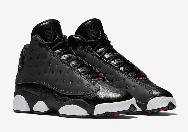 Wholesale Cheap 2017 Air Jordan 13 Hyper Pink Black Anthracite-Hyper Pink 3M Reflective - www.wholesaleflyknit.com