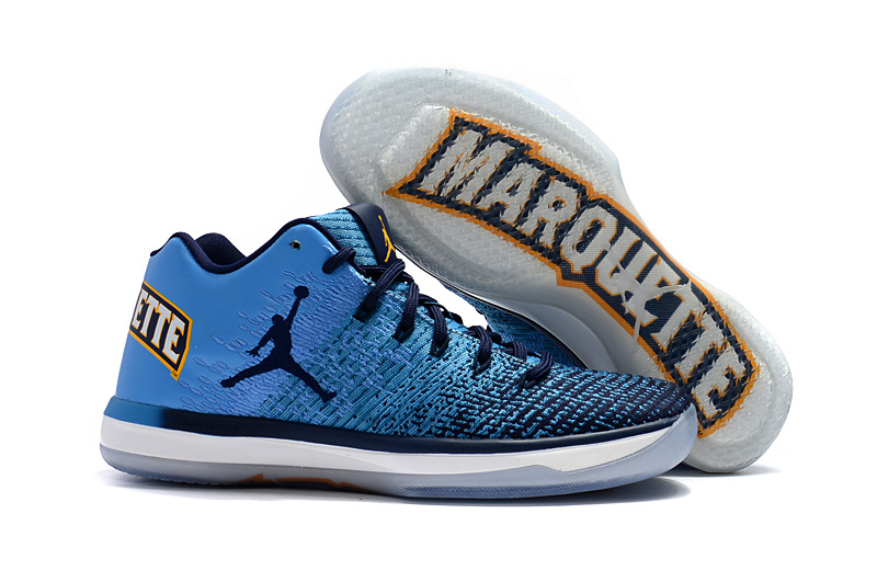 Wholesale Cheap 2017 Air Jordan 31 Low Marquette PE For Sale - www.wholesaleflyknit.com