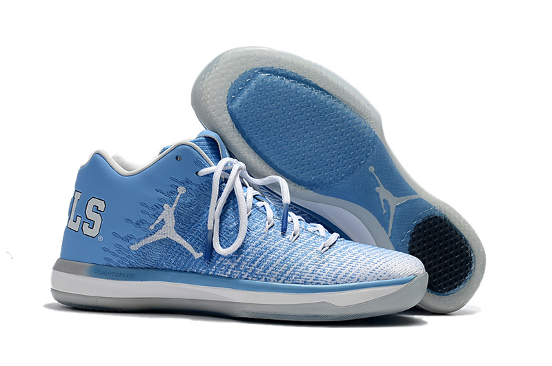 Wholesale Cheap 2017 Air Jordan 31 Low UNC Blue White-College Navy For Sale - www.wholesaleflyknit.com