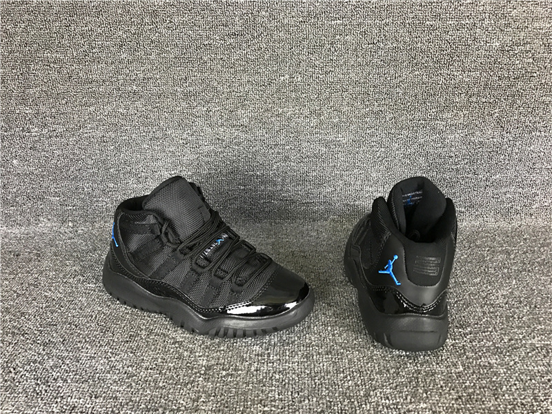 Wholesale Cheap 2017 Kids Air Jordan 11 Gamma Blue Sneakers For Sale - www.wholesaleflyknit.com