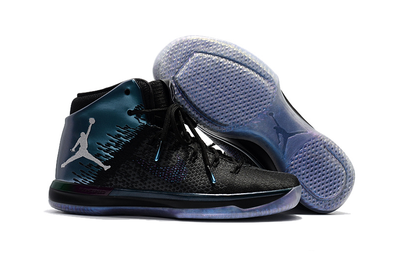 Wholesale Cheap 2017 Mens Air Jordan 31 All-Star Black Metallic Silver-Black - www.wholesaleflyknit.com
