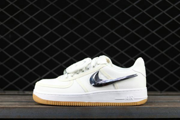 Cheap Wholesale 2017 Nike Air Force 1 Low Travis Scott White For Sale - www.wholesaleflyknit.com