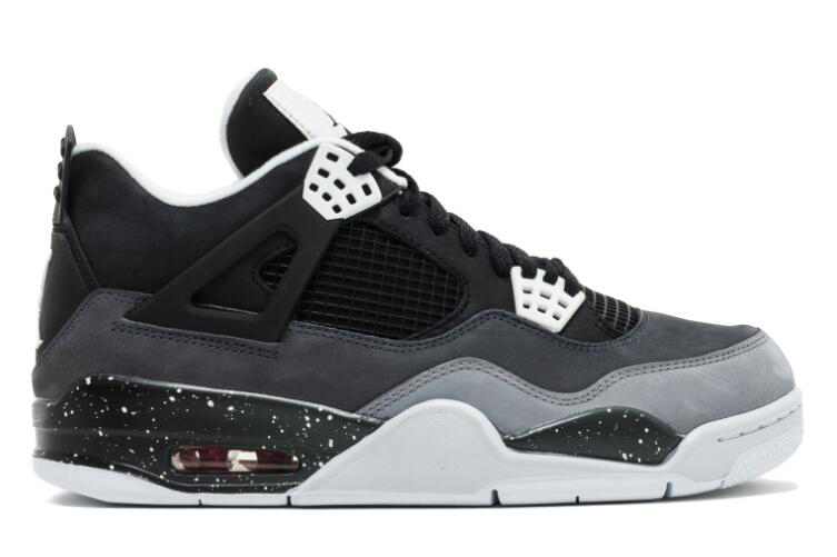 Wholesale Cheap 2018 Air Jordan 4 Fear Black White-Cool Grey-Pure Platinum For Sale - www.wholesaleflyknit.com