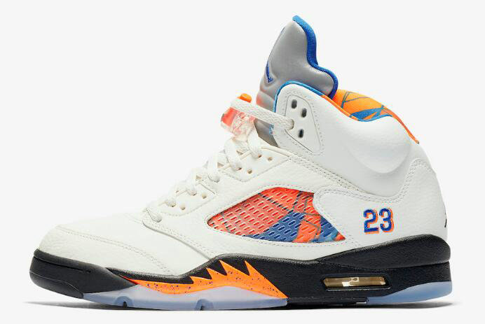 buy popular 7e97f 709d8 Cheap Wholesale 2018 Air Jordan 5 Retro International Flight Sail Orange  Peel-Black-Hyper