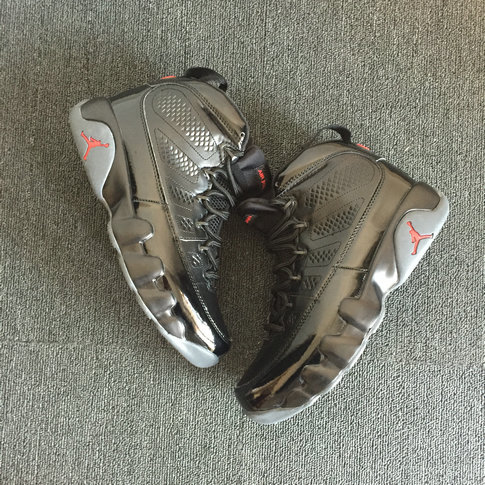 2018 Air Jordan Shoes x Cheap Air Jordan 9 Black Red Grey - www.wholesaleflyknit.com