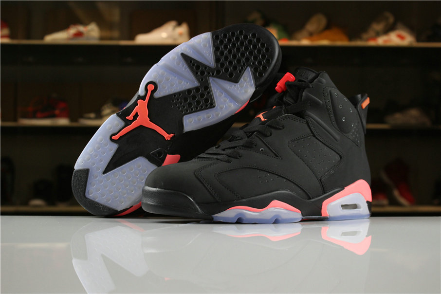 eac9242e6b0882 2018 Air Jordan Shoes x Cheap Nike Air Jordan 6 Black Infrared -  www.wholesaleflyknit