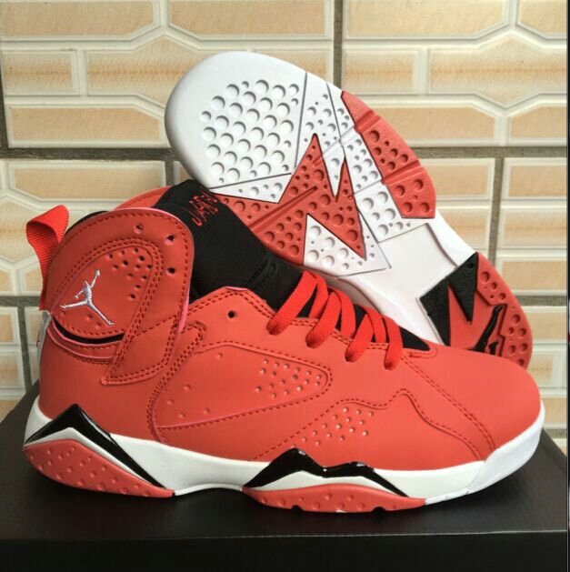 fdb2ca7f3b36 2018 Air Jordan Shoes x Cheap Air Jordan 7 Fadeaway University Red Black- White -