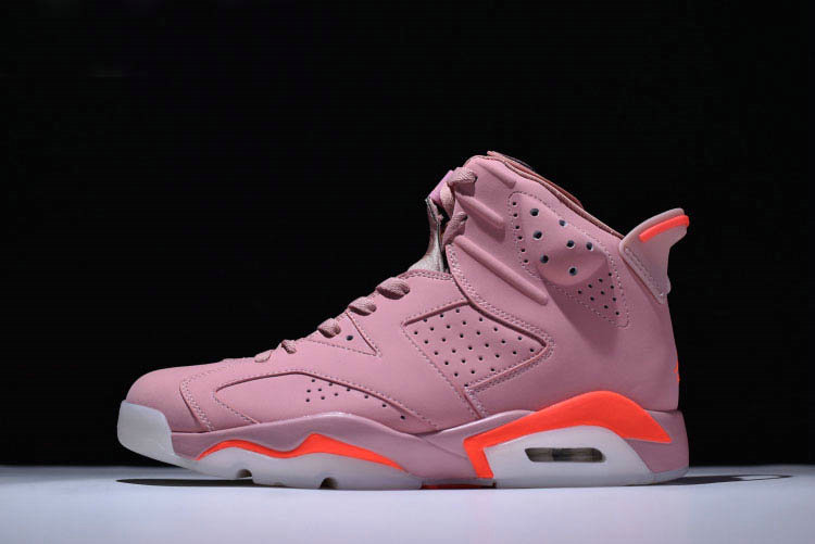 Cheap Wholesale 2018 Aleali Mays Air Jordan 6 Retro Millennial Pink For Sale - www.wholesaleflyknit.com