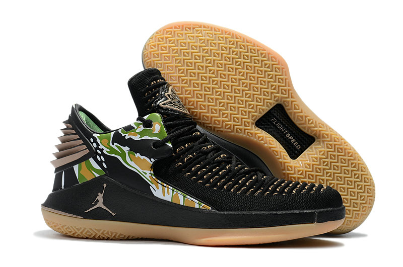 2018 Wholesale Cheap Air Jordan Retro 32 Gold Black - www.wholesaleflyknit.com