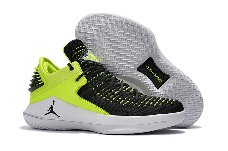 f564e895060bda 2018 Wholesale Cheap Air Jordan Retro 32 Green Black White -  www.wholesaleflyknit.com