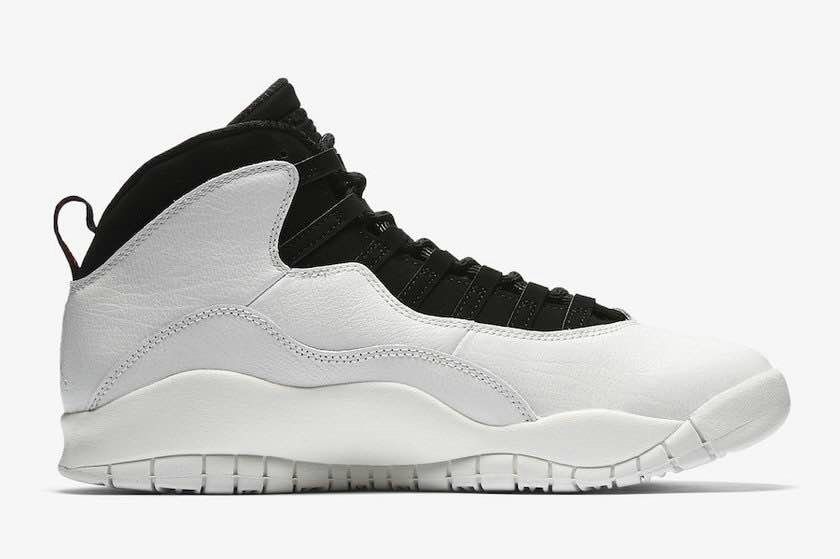 2018 Wholesale Cheap Air Jordans Retro 10 White Black - www.wholesaleflyknit.com