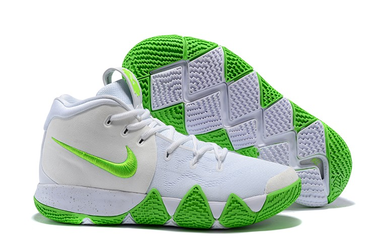 7ca2c84b8dca Wholesale Cheap 2018 Mountain Dew x Nike Kyrie 4 K.A.R.E. Kit White Green  For Sale -