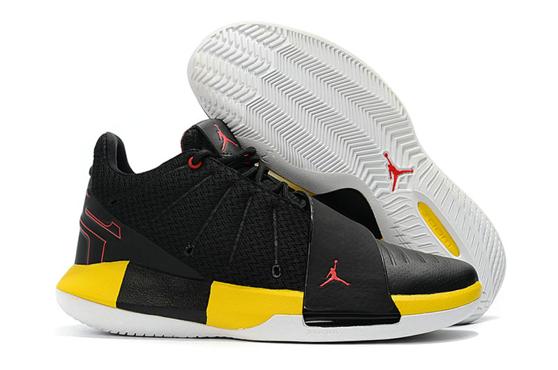 2018 Cheapest Wholesale Nike Air Jordan CP3 XI Yellow Black Red Cheapest Wholesale Sale - www.wholesaleflyknit.com