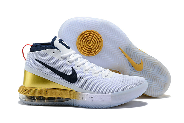 2018 Wholesale Cheap Nike Air Max Dominate Gold White Navy Blue - www.wholesaleflyknit.com