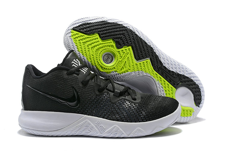 3bdc1e2e9012 2018 Cheapest Wholesale Nike Kyrie Irving Flytrap Black White -  www.wholesaleflyknit.com