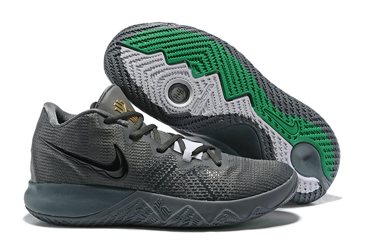 c0ad4f55086 2018 Cheapest Wholesale Nike Kyrie Irving Flytrap Grey Black Green -  www.wholesaleflyknit.com