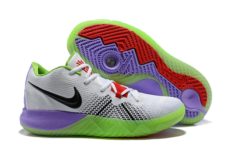 74a932b7455f 2018 Cheapest Wholesale Nike Kyrie Irving Flytrap Purple White Black Red  Green - www.wholesaleflyknit