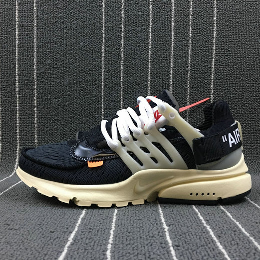 e6a342b3347 2018 NikeLab OFF-WHITE x Cheap Nike AIR Presto The Ten OW Black-Black