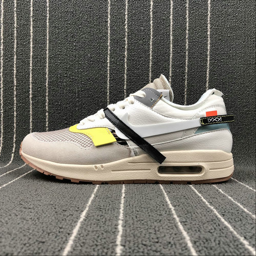 purchase cheap 5019c 365c5 2018 NikeLab OFF-WHITE x Cheap Nike Air Max 1 Sail White-Muslin Voile