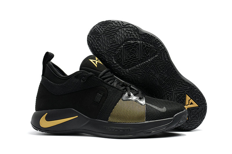 2018 Wholesale Cheap Nike PG 2  Paul George Fire Gold Black - www.wholesaleflyknit.com