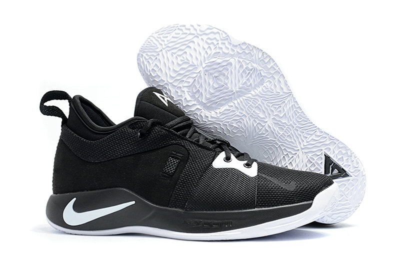 2018 Wholesale Cheap Nike PG 2  Paul George White Black - www.wholesaleflyknit.com