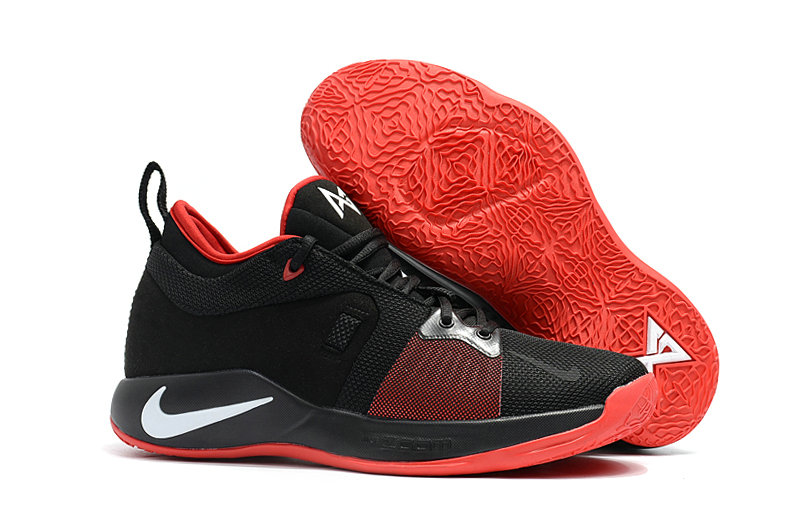 2018 Wholesale Cheap Nike PG 2  Paul George White Red Black - www.wholesaleflyknit.com