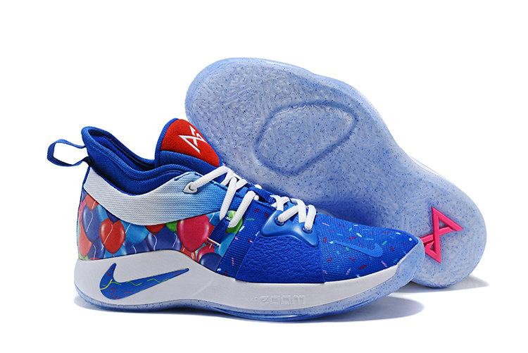 2018 Cheapest Wholesale Nike Zoom PG 2 Blue Pink White - www.wholesaleflyknit.com