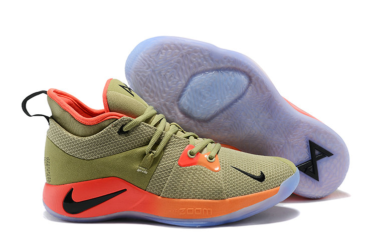 2018 Cheapest Wholesale Nike Zoom PG 2 Pink Khaki - www.wholesaleflyknit.com