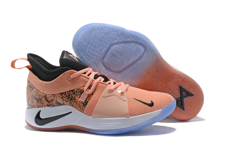 2018 Cheapest Wholesale Nike Zoom PG 2 Rose Pink Black White - www.wholesaleflyknit.com