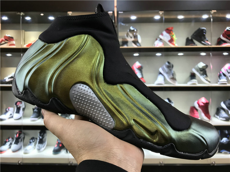 2018 Nike Flightposite x Cheap Nike Air Flightposite One Champaign Gold - www.wholesaleflyknit.com