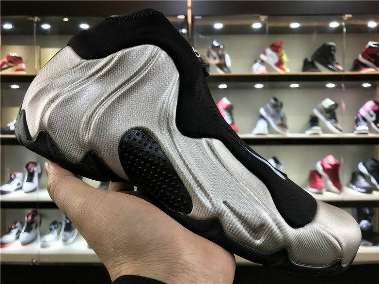2018 Nike Flightposite x Cheap Nike Air Flightposite One Silver Black - www.wholesaleflyknit.com