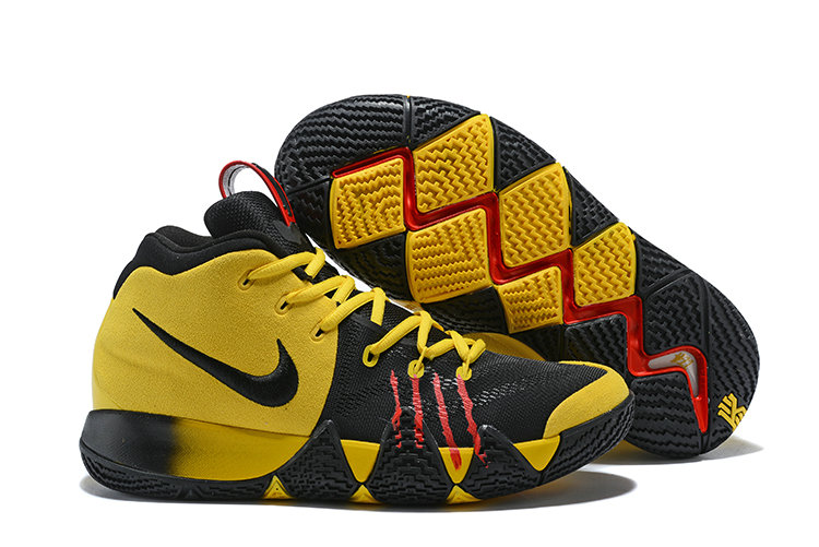 new concept ccf3a 9c487 2018 Nike Kyrie Shoes x Cheap Nike Kyrie 4 Bruce Lee Yellow Black Red - www