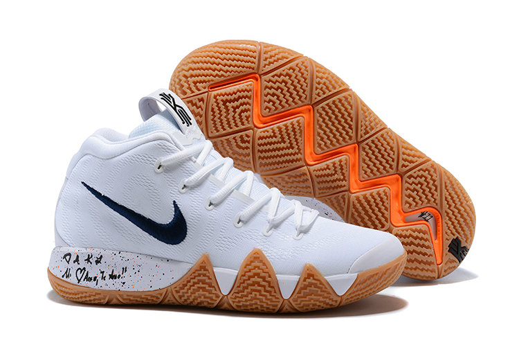 39ce81b9dd4c 2018 Nike Kyrie Shoes x Cheap Nike Kyrie 4 Uncle Drew Flim Black White - www