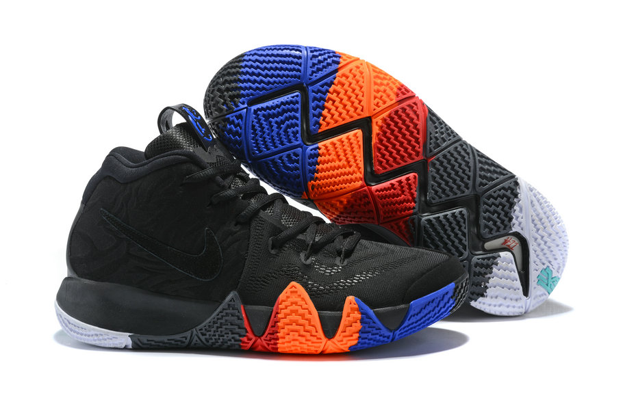 2018 Nike Kyrie Shoes x Cheap Nike Kyrie 4 Year of the Monkey Anthracite Black - www.wholesaleflyknit.com