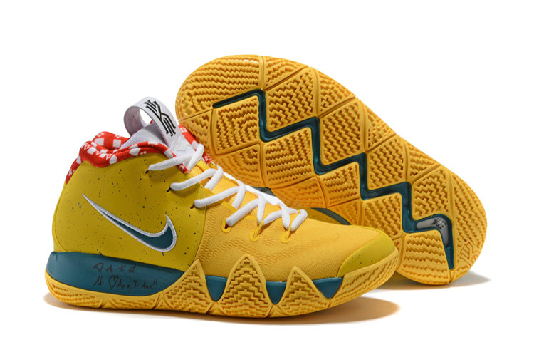 f5b47e804173 2018 Nike Kyrie Shoes x Cheap Nike Kyrie 4 Yellow Lobster -  www.wholesaleflyknit.