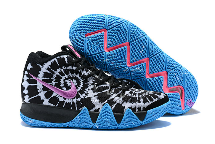 8743b3eb34c9 2018 Nike Kyrie Shoes x Cheap Womens Kyrie 4 All-Star Black White AQ8623-