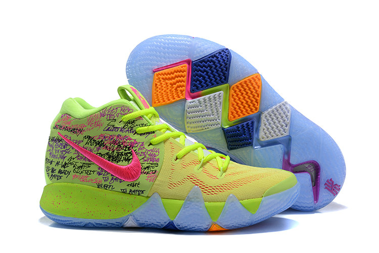 2018 Nike Kyrie Shoes x Cheap Womens Kyrie 4 Confetti Multi-Color-Multi-Color 943806-900 - www.wholesaleflyknit.com