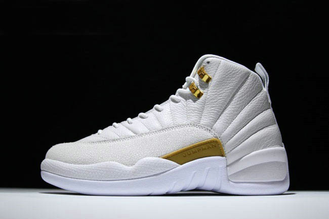 Cheap Wholesale 2018 New Air Jordan 12 OVO White Metallic Gold-White For  Sale - 8bf44c9a6